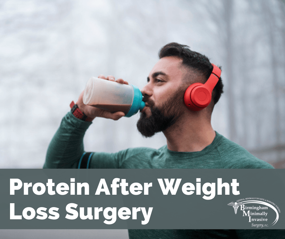 protein after weight loss surgery